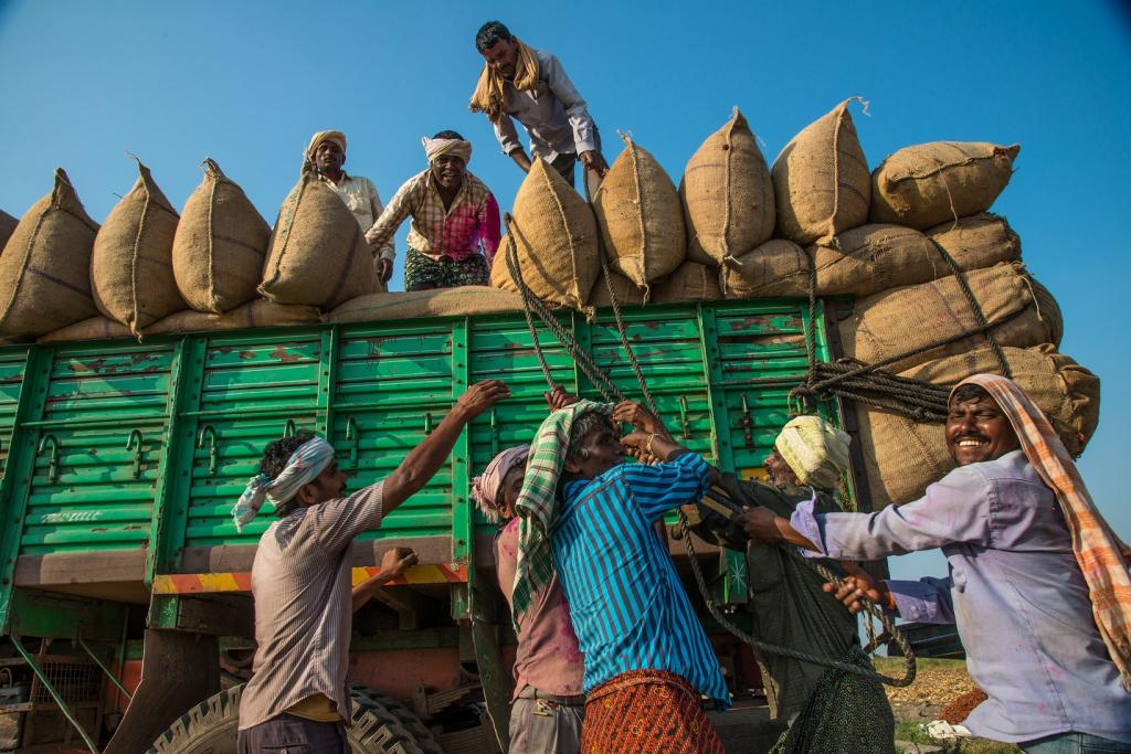 There is a possibility of a strong rebound in global demand and hence in India's exports. Credit: ADB / Flicker