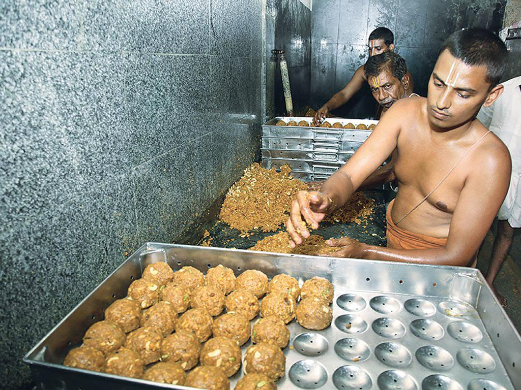 Several people in the past have complained about unhygienic practices followed during the preparation of prasad at Tirupati temple in Andhra Pradesh (Photo: Jaya Sekhar/ Tirumala Tirupati Devasthanams)