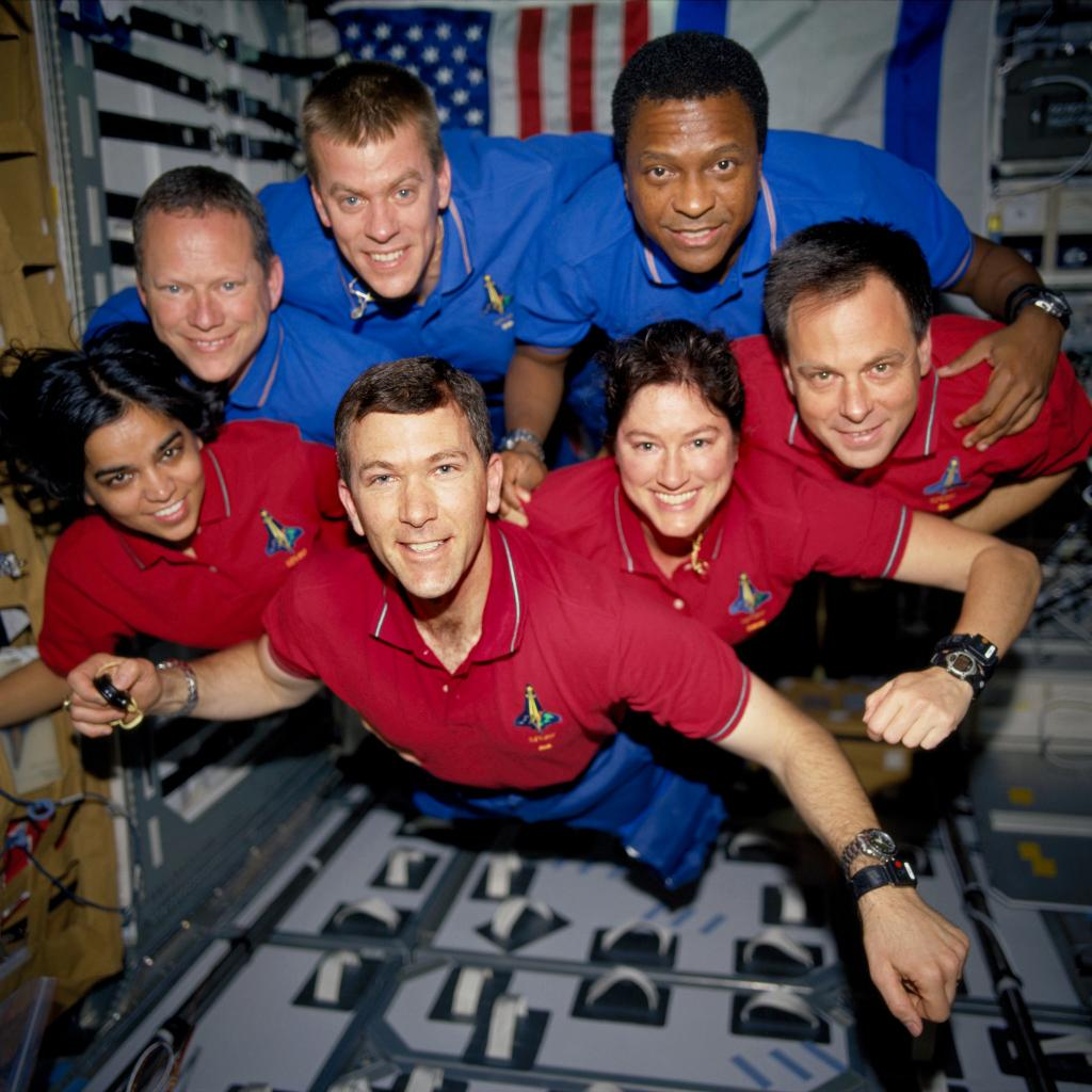 In all the media hype, the legacy left behind by the Columbia (STS-107) crew was almost forgotten. Credit: NASA / Flicker