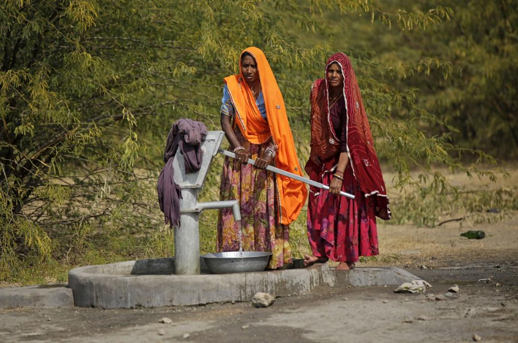Rural women often take up to six trips a day to collect and transport water. The long and arduous task leaves them with no scope to contribute as an earning member of the family