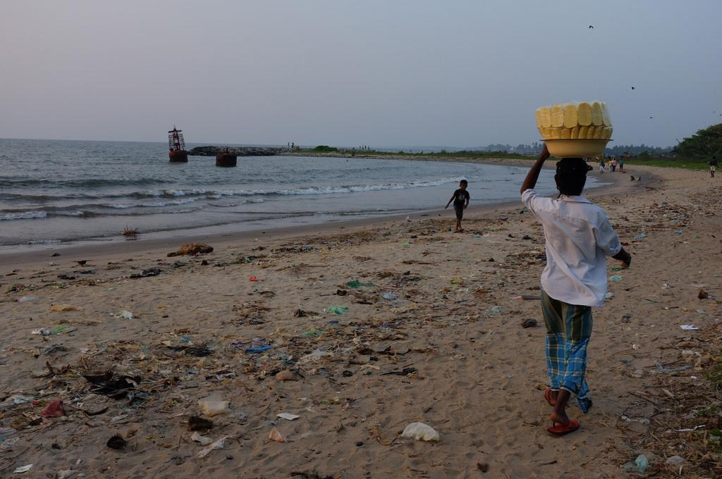 Between five and 13 million tonnes of plastic debris entered the marine environment in 2010. Credit: Indi Samarajiva / Flicker