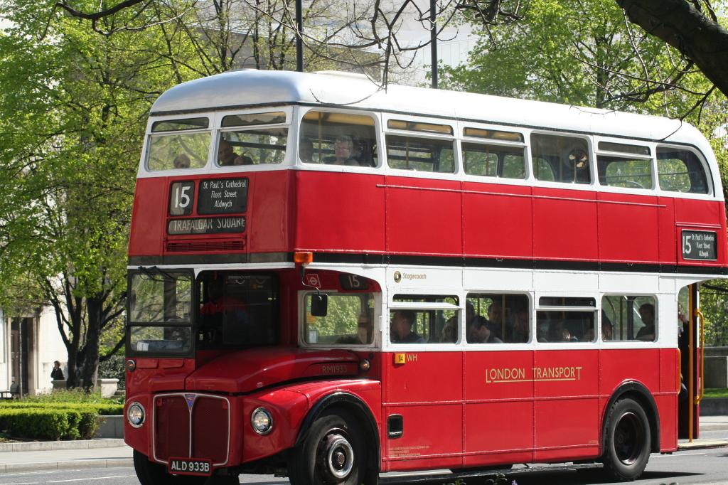 A London bus Credit: Flickr