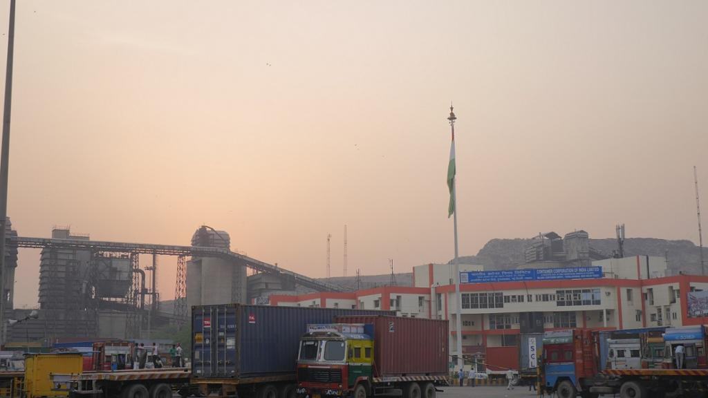 The Container Corporation Of India, where the accident took place, is located very close to two girls' schools