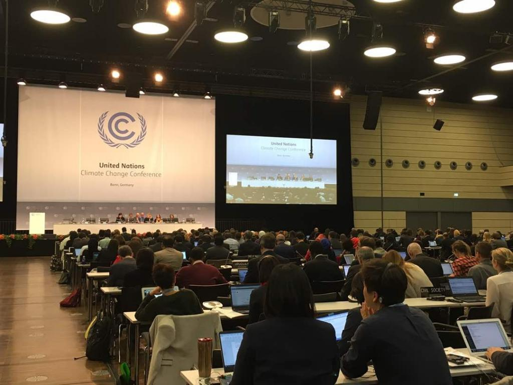 The Bonn session scheduled to be held from May 8-18, 2017 has started amid growing speculations about the present and future US engagement in the Paris Agreement Credit: Vijeta Rattani