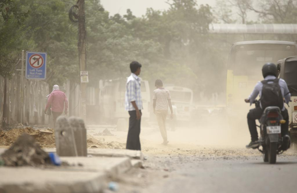 The system synthesizes data on sources of air pollution and its impact on public health (Credit: Vikas Choudhary/CSE)