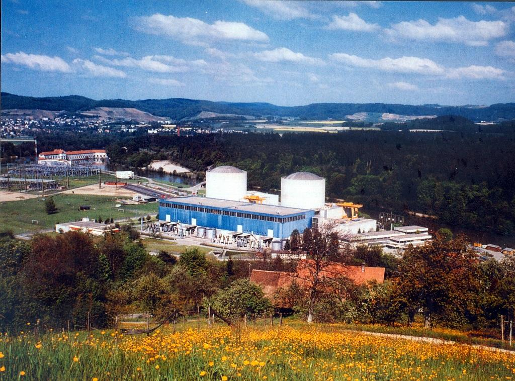 Beznau nuclear reactors 1 and 2 in northern Switzerland. Credit: IAEA imagebank