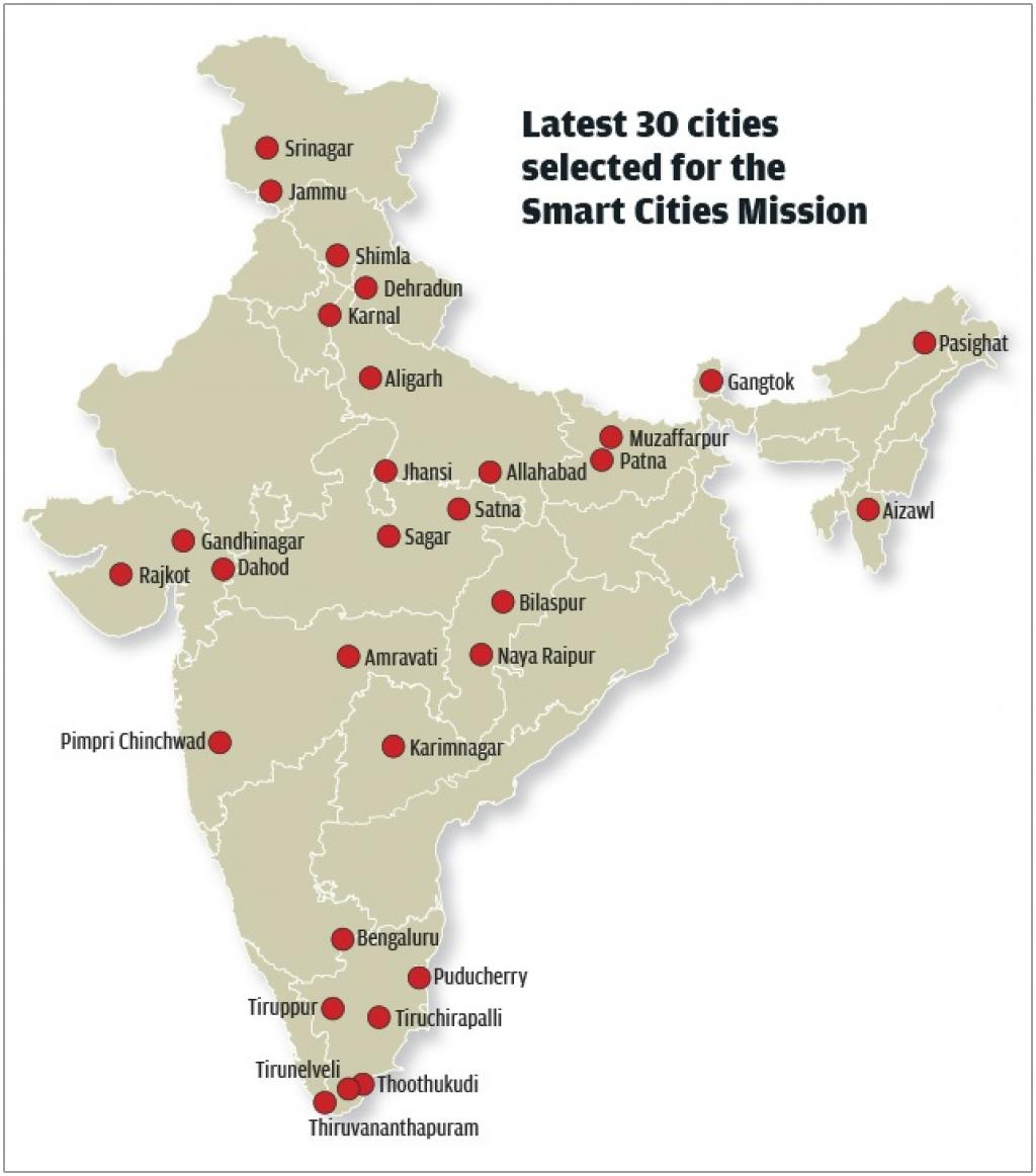 Thirty new smart cities announced india to have city livability index credit raj kumar singh gumiabroncs Gallery