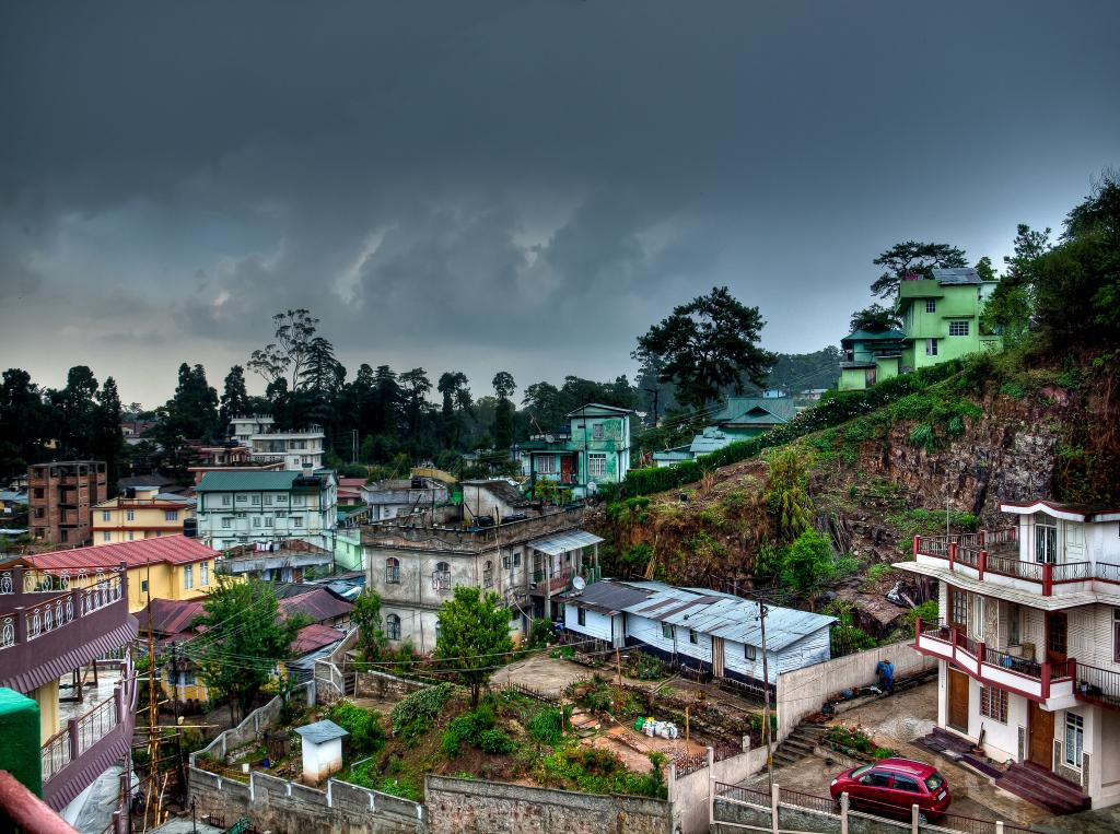 Shillong has seen a rise of temperature of 1 to 1.5 degree in the past three decades (Credit: Subharnab Majumdar/CSE)