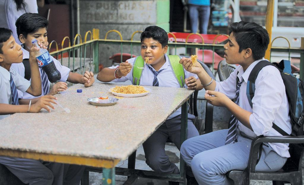 Despite the Delhi High Court order, the Food Safety and Standards Authority of India is yet to enforce guidelines restricting the availability of junk food in and 