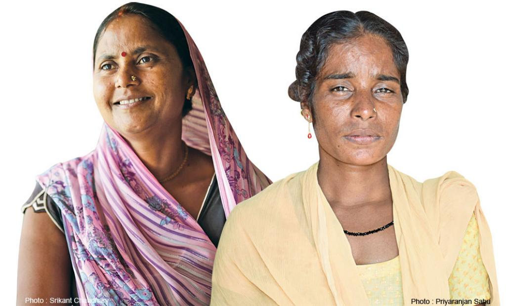 Sima Devi (left)
