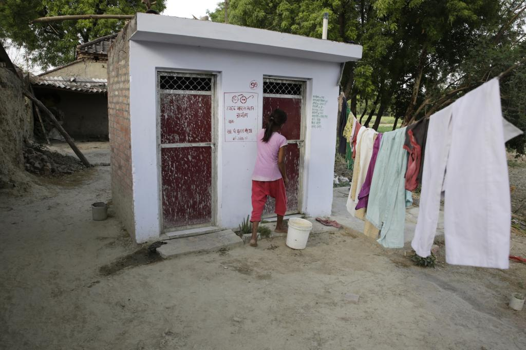 15 per cent of the total population in India defecates in the open in India. Photo: Vikas Choudhary