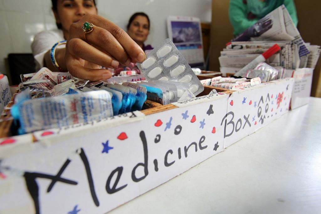The volume of all retail medicines traded across the India-Nepal border reduced by 46.5 per cent compared to same months in 2014–2015. Credit: DFAT/ Flickr