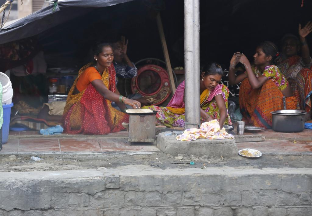 A United Nations Development Programme report says that despite a steep drop in poverty between 1990 and 2013, some 54 per cent of the world's multidimensional poor live in South Asia