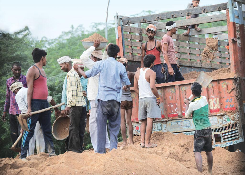 Bhind is one of Madhya Pradesh's most important sand mining centres (Photographs: Vikas Choudhary)