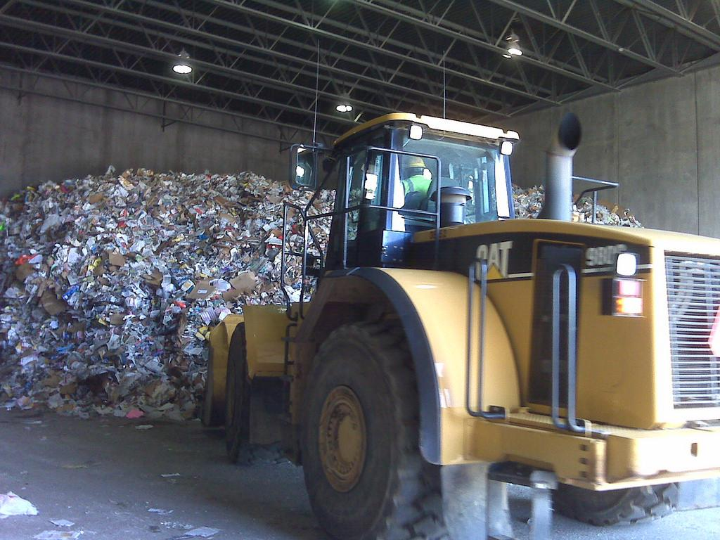 Less than 10 per cent of the waste is being processed in 11 states across the country. Credit: ACE Solid Waste / Flickr