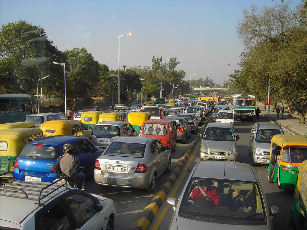 The government is saying that air pollution is not a problem in Delhi and the international studies are misguiding. Credit: denisbin / Flickr