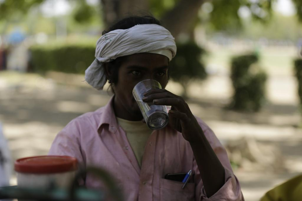 The frequency of heat waves will increase by 3-9 events in the next 30 years. Credit: Vikas Choudhary / CSE