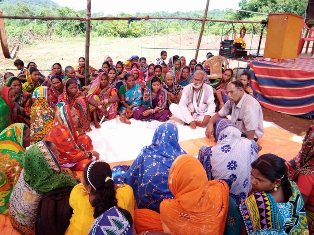 """Forest fulfill us, so it's our responsibility to protect it,"" says Usharani, the president of the Kaptapally Women Forest Protection Committee. Credit: Forest Rights Information centre, Kaptapally"