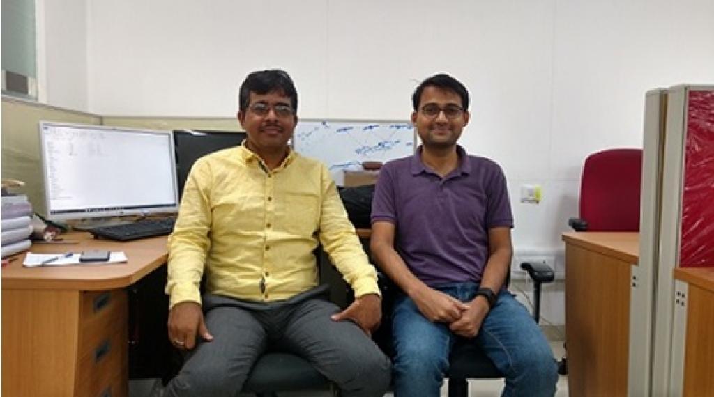 Dr Vimal Mishra and Rahul Kumar of IIT Gandhinagar. Credit: India Science Wire