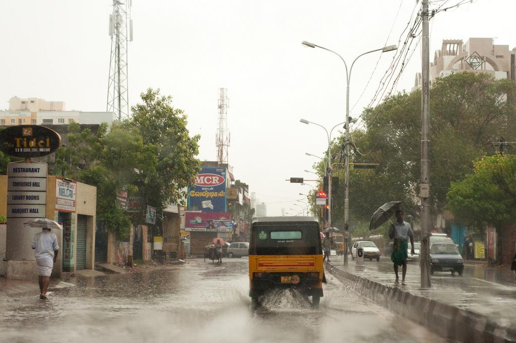 Coastal Tamil Nadu has been receiving heavy showers since October 29. Credit: Liji Jinaraj / Flickr