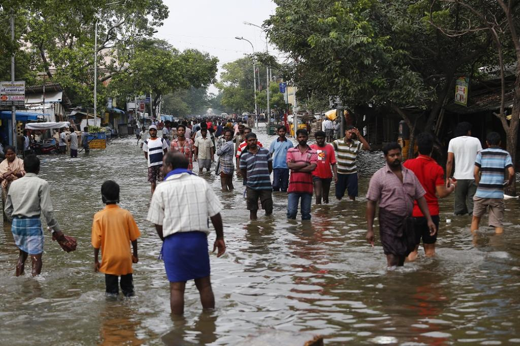 The incidents of severe waterlogging revived the memory of 2015 when Chennai witnessed its worst floods. Credit: CSE