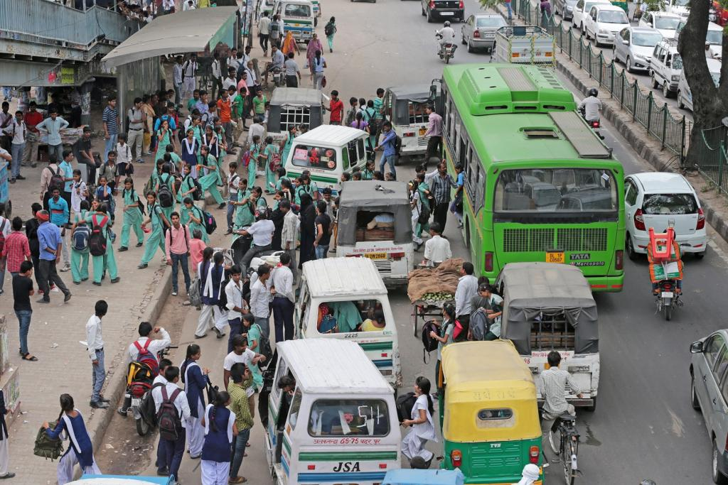 Delhi does not even have half of the total number of buses needed to cover all the areas of the city. Credit: Vikas Choudhary / CSE