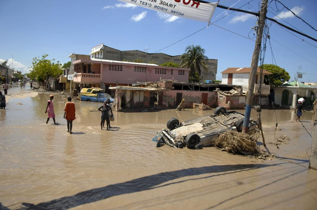 Most of the affected countries in the bottom 10 of the long-term index have faced exceptional catastrophes. Credit: Wikimedia Commons