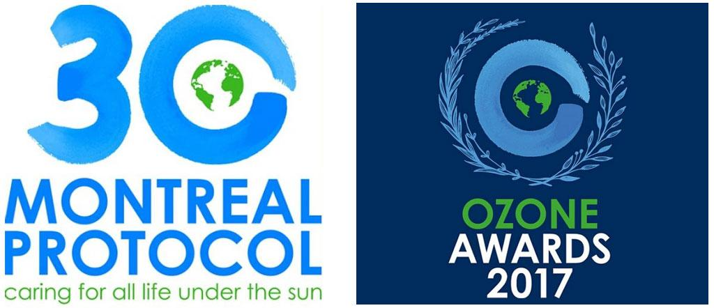 The Ozone Award was given in a ceremony held to mark the 30th anniversary of the Montreal Protocol. Credit: UNEP