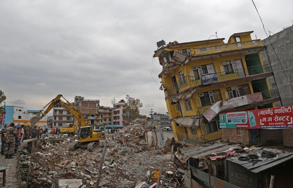 A large number of old and dilapidated buildings will be a particular risk in Nepal when future earthquakes strike. Credit: Wikimedia Commons