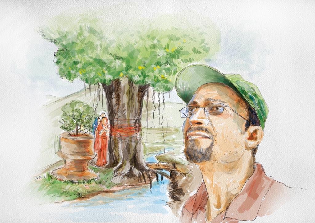 Painting: Raj Kumar Singh