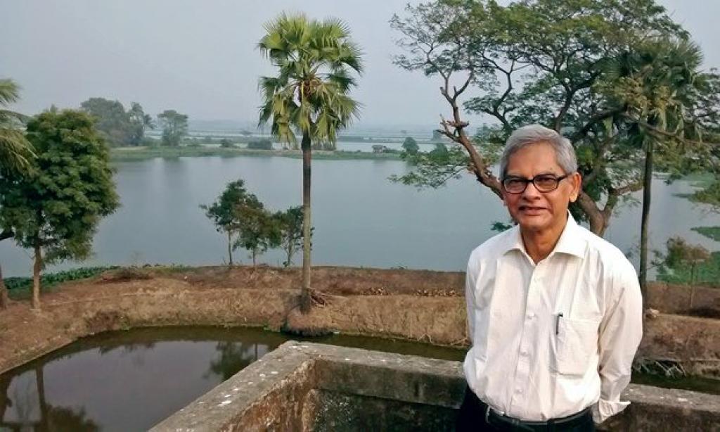 Dr Dhrubajyoti Ghosh brought international focus on wetlands. Credit: Ramsar