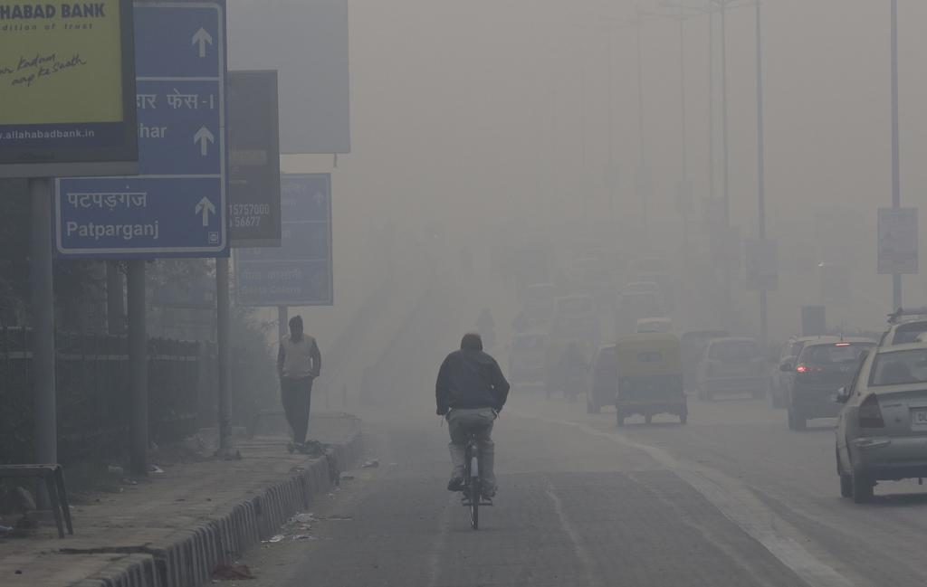 The right to breathe is fundamental, said the EPCA chairperson. Credit: Vikas Choudhary/CSE