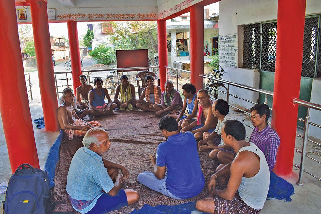 Santosh Meher, Bhoimunda Village Jharsuguda, Odisha (Photo: Priya Ranjan Sahu)