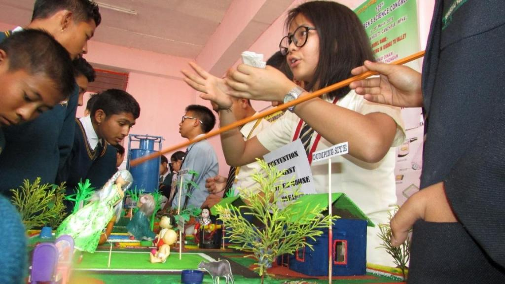 Children's Science Congress is a unique opportunity for students to improve scientific treatment and expand their innovative talents in the field of science.  Credit: Sobhapati Samom