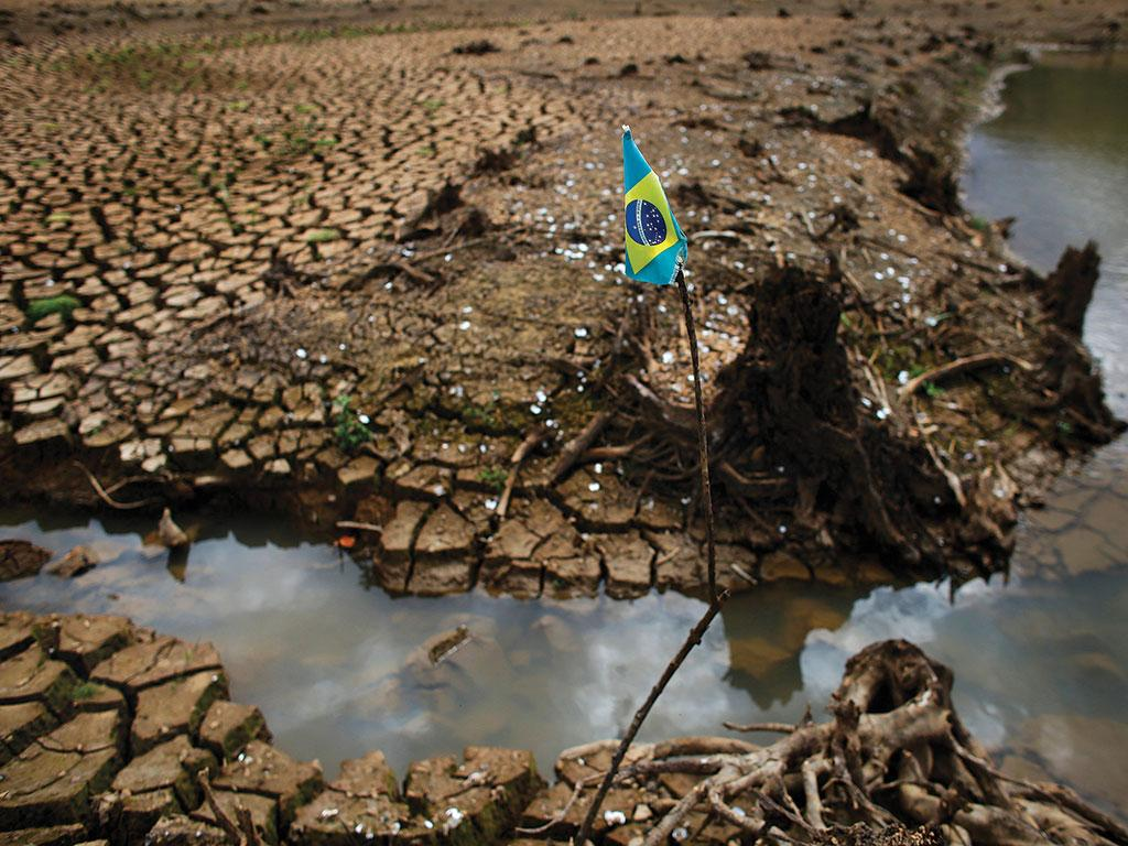 The Sao Paulo water crisis, or