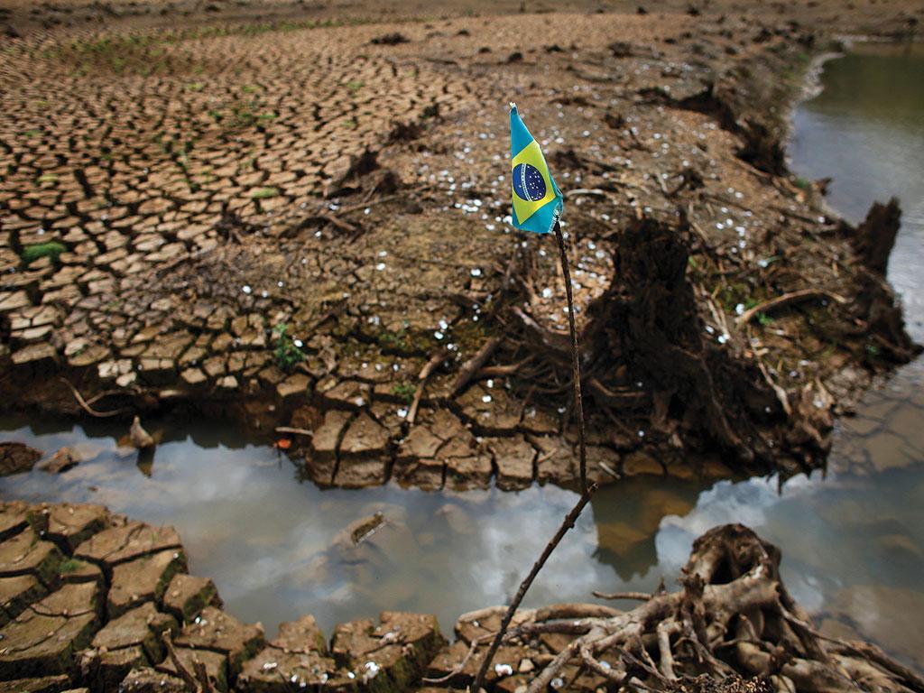 The Sao Paulo water crisis, or