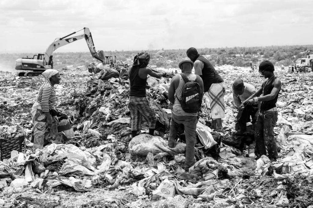 The Hulene landfill in Maputo, Mozambique. Wikipedia Commons