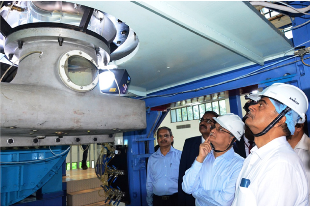 Union Minister of state for New and renewable energy (independent charge), R.K. Singh inaugurated a laboratory for testing hydraulic turbines at IIT-Roorkee. Credit: ISW