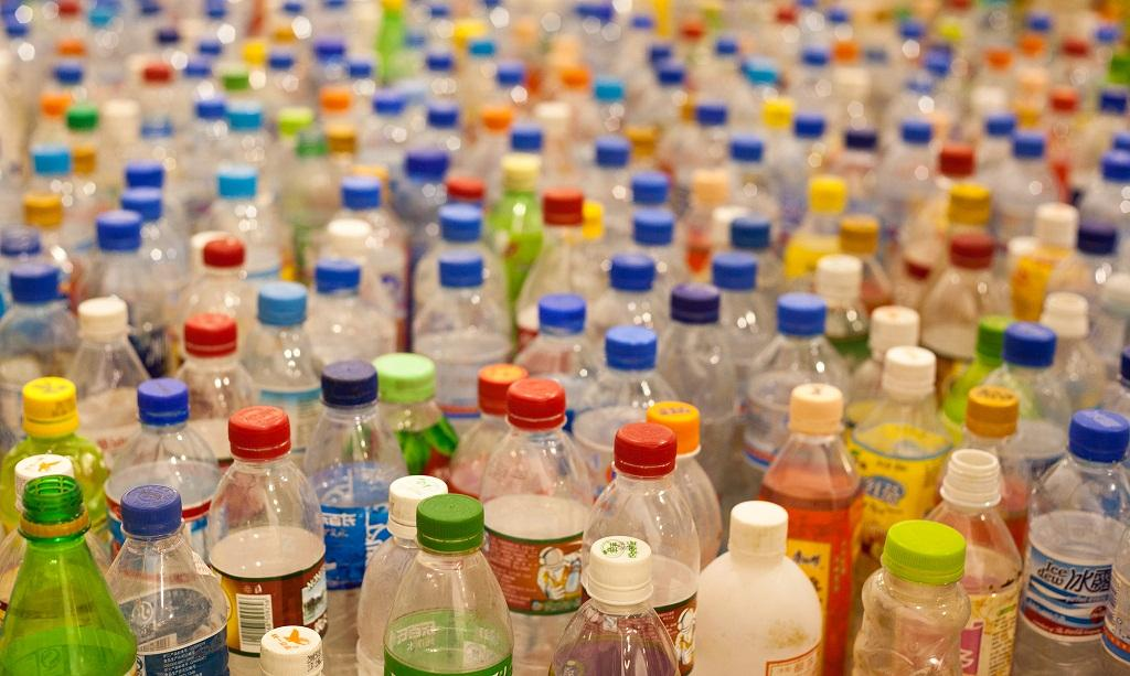 It takes almost 500 years for PET to decompose. PET is the plastic used to make water bottles. Credit: Tom Page/Flickr