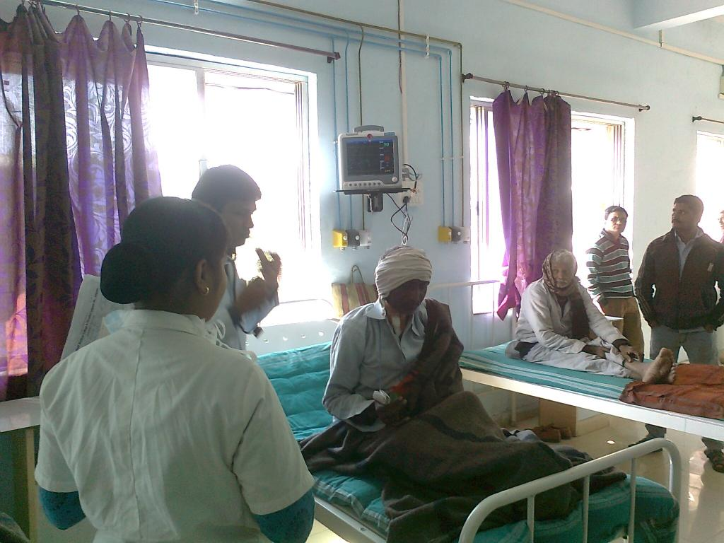 The trials were carried out at a hospital in Jaipur. Credit: Wikimedia Commons