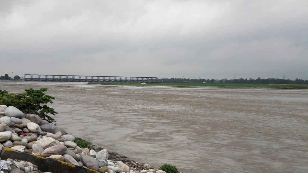Mahakali river site at Bramhadev, Kanchanpur (Credit: Bhaskar Bhattarai / USAID)