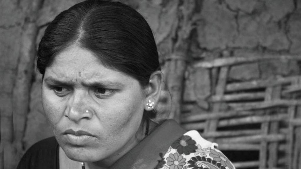 Savita of Borgaon village, Vidarbha: She had to struggle to get the compensation money as both the land and the loan were in her mother-in-law's name    (Photographs: Vijay S Jodha And Oxford University Press)
