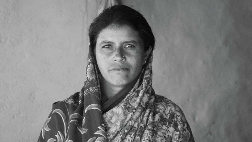 Manjubai of Son Wadhona village, Vidarbha: Debts remain even after death. Manjubai used the compensation money to pay private moneylenders from whom her husband had taken a loan  (Photographs: Vijay S Jodha And Oxford University Press)