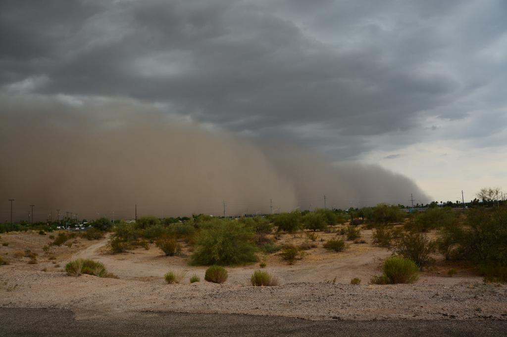 The 2006 excessive rainfall brought by the dust storms was linked to climate change. Credit: Greg Gorman/Flickr