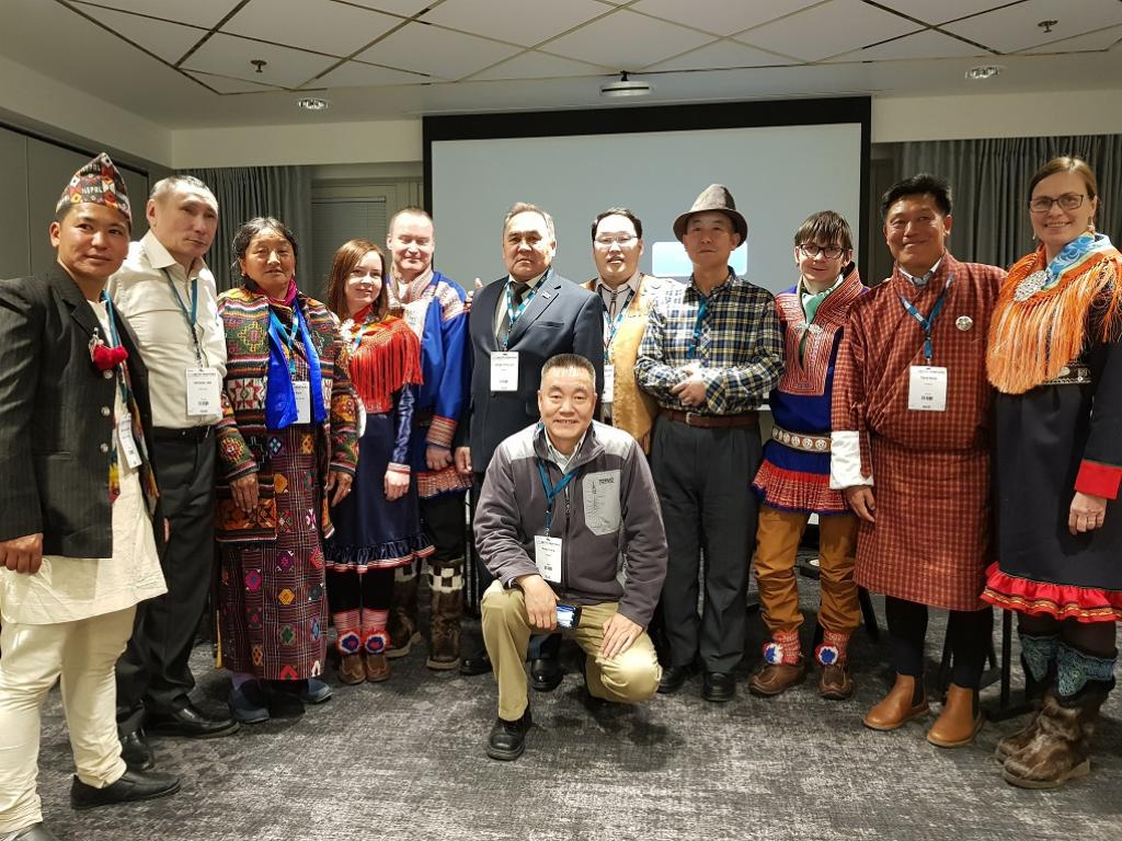 Participants of the Himalaya Yak and Arctic Reindeer Herders: Building resilience and cooperation Conference Session at Arctic Frontiers. Credit: ICIMOD