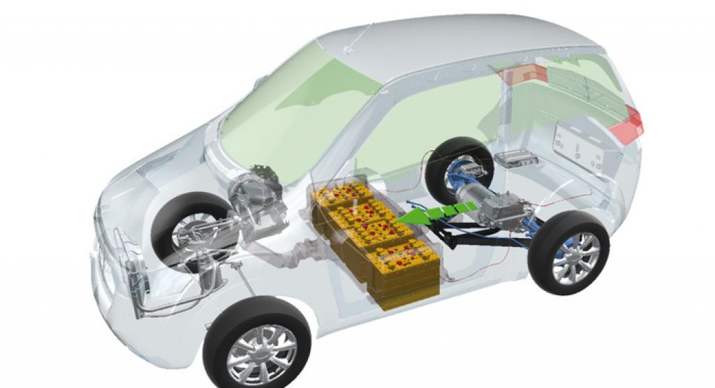 The make-up of a Mahindra E20     Credit: http://www.autocarpro.in