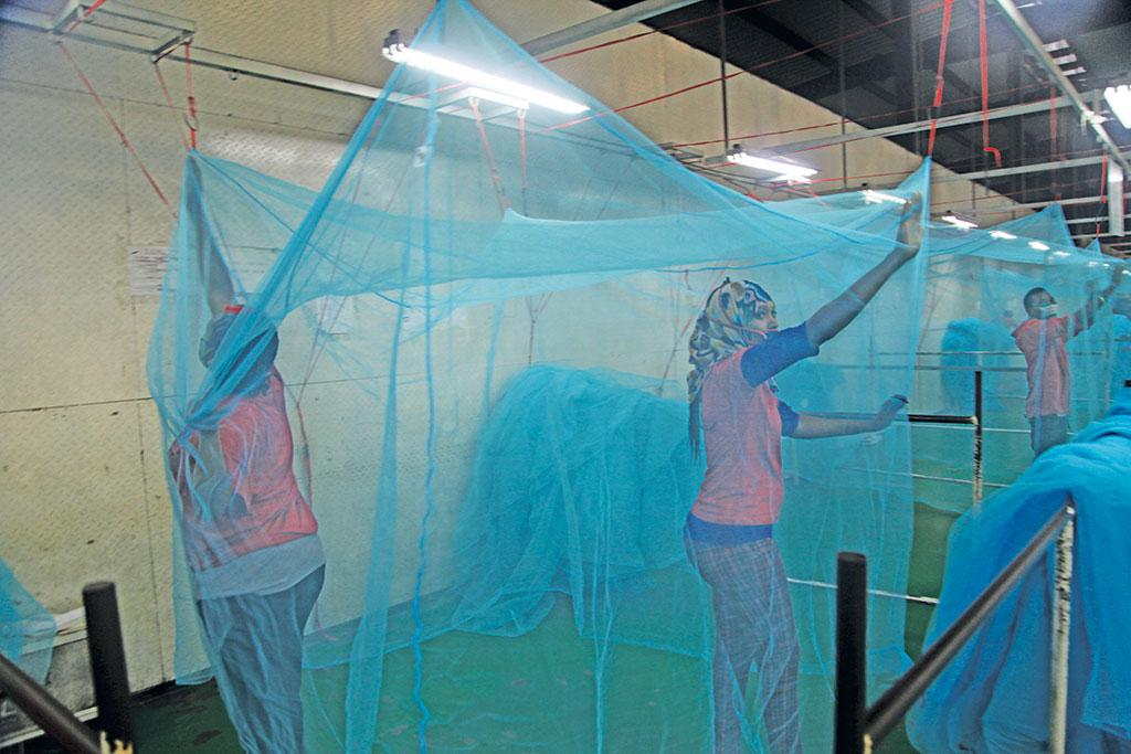 Due to climate change, vector borne diseases such as malaria, Rift Valley Fever and trypanosomiasis will increase. Use of protective measures such as bed nets would have to increase multifold to avoid vectors  (Photo: Reuters)