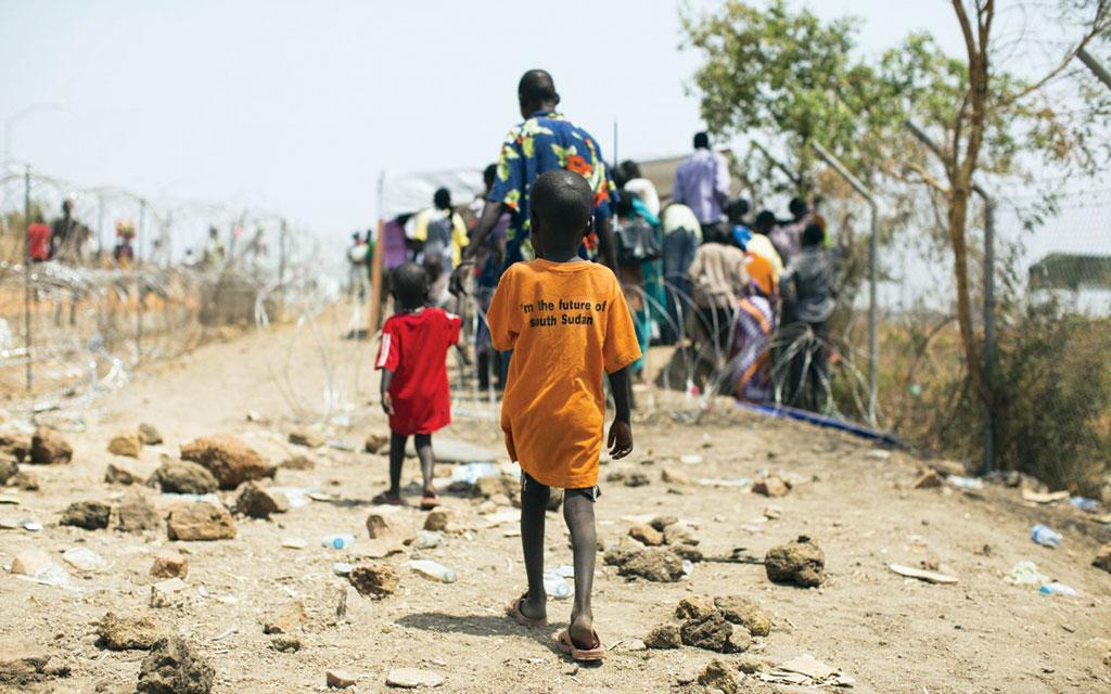 While 95 per cent of the South Sudanese population is dependent on climate-sensitive activities for their livelihoods, the ongoing civil war has worsened the the crisis (Credit: oxfamamerica.org)