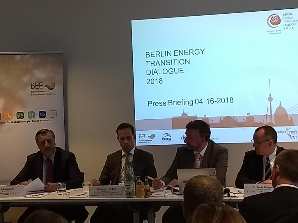 Experts, businessmen and investors gathered for a two-day Berlin Energy Transition Dialogue (BETD) 2018 in the German capital in April.
