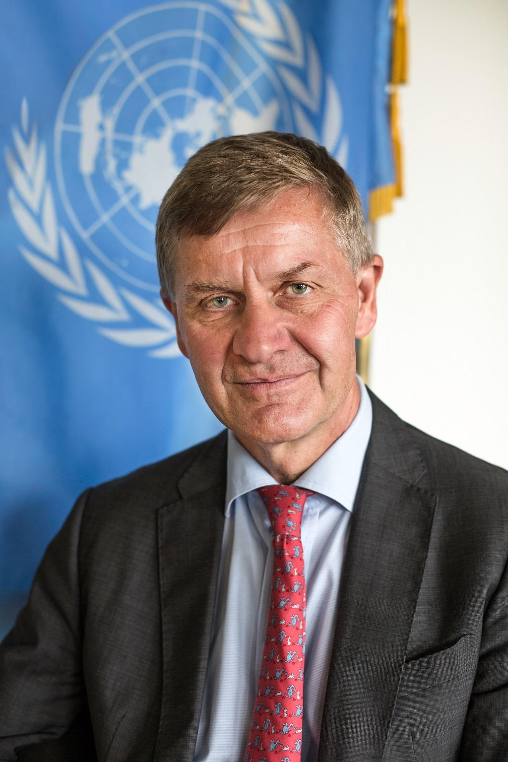 Erik Solheim, UNEP chief, talks to Down To Earth, hours before he was going to attend the main event in New Delhi with Prime Minister Narendra Modi. Credit: United Nations